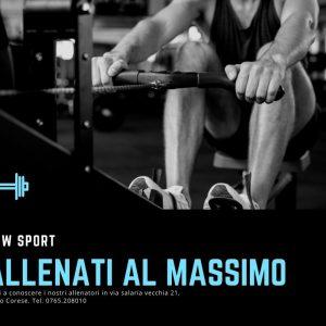 Turchese Nero e Bianco Allenamento Fitness Facebook Post